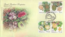 Malaysia 2014 Local Fruits FDC t