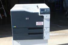 HP Color Laserjet Enterprise M750 Wide Format 11x17 With HP OEM Toners D3L09A