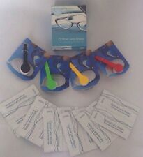 ⭐⭐️️30 X OPTICAL SPECTACLE GLASSES WIPES +MICROFIBRE GLASSES CLEANER⭐️⭐️