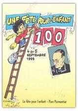 Ex-libris WALTHERY 1999 FETE POUR L'ENFANT PTI BOUT D CHIQUE 99ex signé 15x21