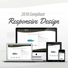 2018 Compliant Mobile Responsive Ebay Auction Listing Template Black Curves