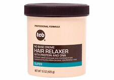 TCB No Base Creme Hair Relaxer - Super 15 oz