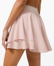 Lululemon Court Rival High Rise Skirt (tall) NWT Size 8 - Pink Bliss