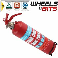 ABC DRY Powder 1KG Fire Extinguisher & Mounting Bracket CAR VAN TAXI MINI BUS