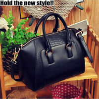 Women Ladies Designer Celebrity Tote Bag GENUINE Leather Large Shoulder Handbags