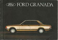FORD   GRANADA   1977  Betriebsanleitung  ´78  Bedienungsanleitung  Handbuch  BA