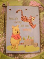Disney Pooh And Tigger Garden Flag
