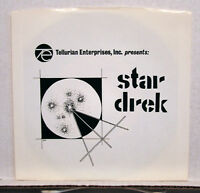 Vintage Star Trek STAR DREK 45 RPM Record in Sleave