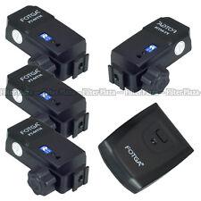 FOTGA 4 channel Wireless Flash Radio Remote Trigger PT-04 TM+ 4 Receiver Set Kit