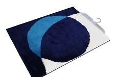 Tapis de bain Sanwood Point TURQUOISE Bleu Foncé 60 60 cm. Qualité Premium WC