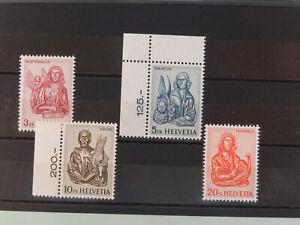 Schweiz Satz 738 - 741 Evangelisten Postfrisch