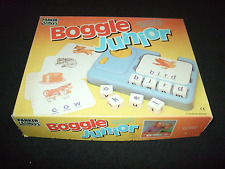BOGGLE JUNIOR GAME MADE BY PARKER BROTHERS 1992