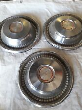 1966 Chevrolet Caprice 14 Inch Hubcap wheel Cover GM Part # 3875033 set of 3