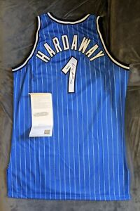 ANFERNEE PENNY HARDAWAY Magic SIGNED Authentic Champion Jersey Upper Deck COA 96