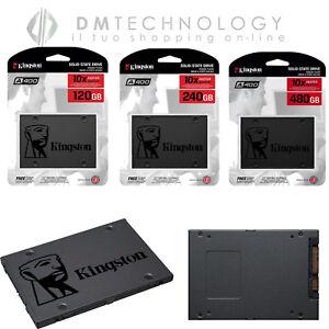SSD INTERNO KINGSTON A400 120GB/240GB/480GB SATA3 2,5 R/W 500/320 MBS/S