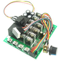 DC 12V 24V 36V 48V 60A 3000W PWM DC Motor Speed Controller HHO RC C/CW Switch
