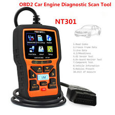 New NT301 Car OBD2 EOBD CAN Engine Fault Code Diagnostic Scanner Tool w/Hot Keys