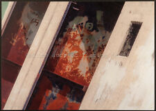 """Urban Painting2"", Artist Produced, Signed & Dated Open Edition Printed Postcard"