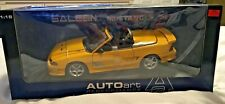 1:18 AUTOART Ford Mustang Saleen S351 Convertible Yellow, NIB