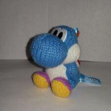 Lvl 50 Amiibo Yoshi Blue Yarn Nintendo Wii U 3DS  Mario Party Smash US Switch