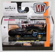 M2 MACHINES AUTO-MODS 1969 DODGE CHARGER DAYTONA HEMI AM07 CHASE W+