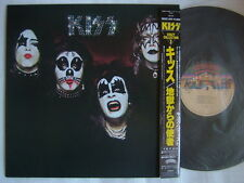 KISS SAME S/T / JPN WITH OBI ROOC CRAZY COLLECTION ISSUE