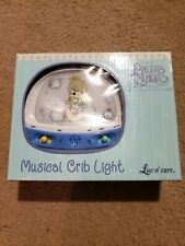 New Precious Moments Musical Crib Light Baby Collection Luv n' Care