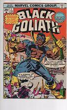 BLACK GOLIATH #1 VF 1975 1ST SOLO SERIES 1ST ATOM SMASHER! BILL FOSTER