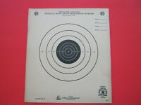 10 NATIONAL RIFLE ASSOCIATION ~  OFFICIAL 50 FT. SLOW FIRE PISTOL TARGETS