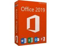 MS Microsoft Office 2019 Pro Plus Key 32/64Bit Download License For 1PC Genuine