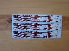 ARROW WRAPS AMERICAN FLAG FLAME BLOOD SPATTER 13 PACK ARROW BUILDING WRAPS