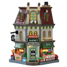 NEW 2017 LEMAX CHRISTMAS VILLAGES BREWSTER'S MARKET #75246