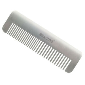 Men's Anti-static Beard Mustache Shaping Detangling Styling Pocket Steel Comb