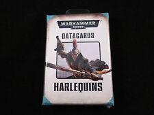 Warhammer 40K Eldar Harlequins Datacards Pack (Sealed)