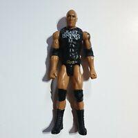 """WWF WWE Wrestling 12"""" Dwayne Johnson the Rock figure"""