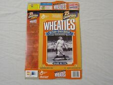 Babe Ruth New York Yankees 75 Years Of Champions Wheaties Cereal Box (Flat) 1999