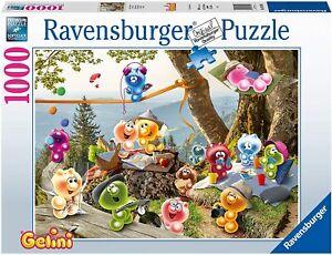 1000 pcs jigsaw puzzle: Gelini on a picnic (Ravensburger 167500)
