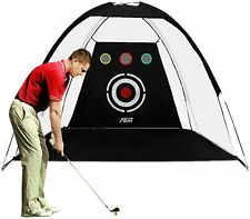 PGM Golf Training Net Hitting Chipping Target Tent Cage Practice Driving Soccer