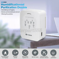 AUGIENB 3-in-1 Air Purifier Odor Eliminator Ozone Cleaner Fresh Air Ionizer Home