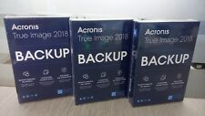 Software ACRONIS TRUE IMAGE 2018 ITALIANO FULL BOX nuovo
