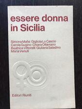 Una donna in Sicilia [questione femminile] libro