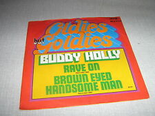 BUDDY HOLLY 45 TOURS GERMANY RAVE ON
