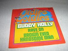 BUDDY HOLLY 45 TOURS GERMANY RAVE ON