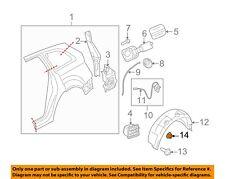 AUDI OEM 09-17 Q5-Fender Liner Fastener 4F0825429A