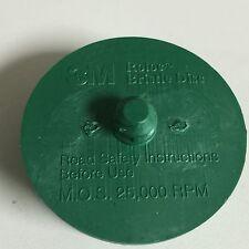 """3m  2"""" Scoth-brite Roloc Bristle Disc 50 Grit green medium"""