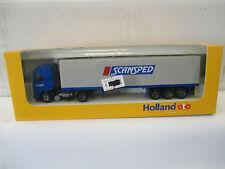 """Holland-oto 1/87 Volvo FH 16 Planen-Sattelzug """" Scansped """"  WS5495"""