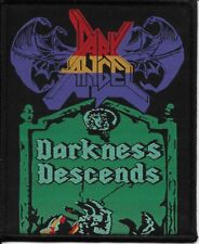 DARK ANGEL-DARKNESS DESCENDS-WOVEN PATCH-THRASH METAL