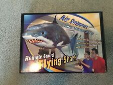 William Mark Air Swimmers RC Remote Control Flying Shark Toy Kids helium Float