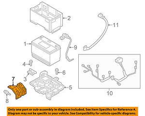 HYUNDAI OEM 13-15 Santa Fe 3.3L-V6 Battery-Support / Bracket 371302W100