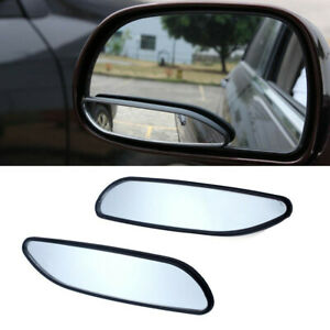 2x Blind Spot Mirror Auto 360° Wide Angle Convex Rear Side View Car Truck SUV LW